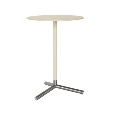 Sprout Pub Table Finish: Ivory