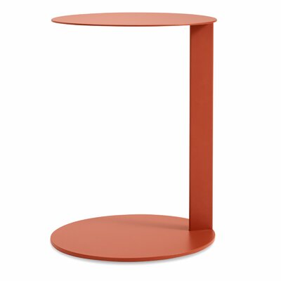Note Side Table Color: Tomatoe