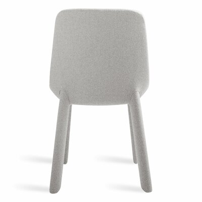 Neat Dining Chair Body Fabric: Light Gray