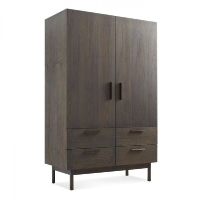 Shale Bar Cabinet Finish: Smoke