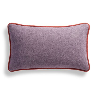 Duck Duck Lumbar Pillow Color: Thurmond Lilac/Blush/Tomato Piping, Size: 10 x 17