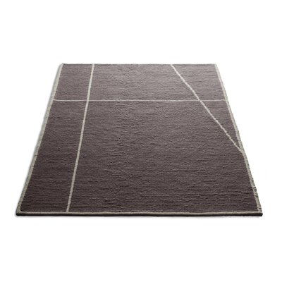 Collet Hand-Woven Wool Dusk Area Rug Rug Size: 5 x 8