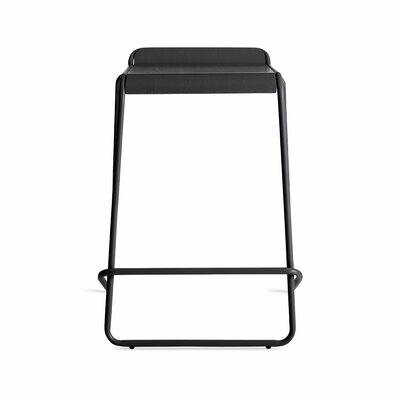 Ready Stacking Counter Stool Frame Color: Black