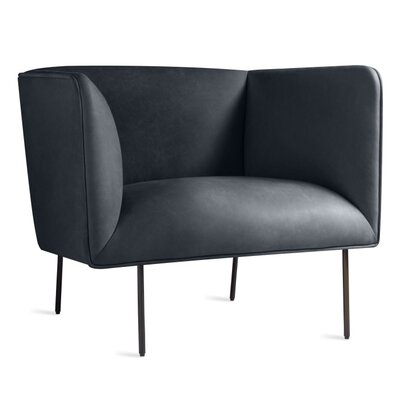 Dandy Armchair Body Fabric: Leather - Ink