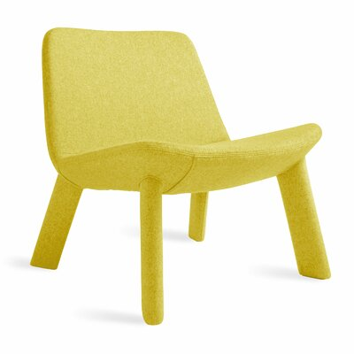 Neat Lounge Chair Body Fabric: Thurmond Citron
