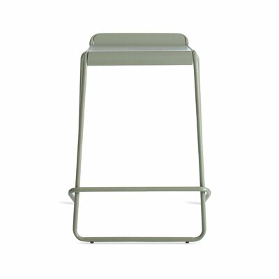 Ready Stacking Counter Stool Frame Color: Gray Green