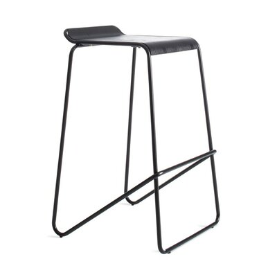Ready Stacking Barstool Frame Color: Black