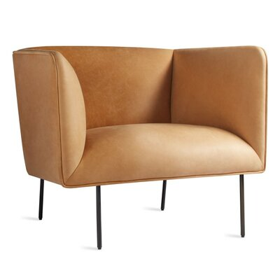 Dandy Armchair Body Fabric: Leather - Camel