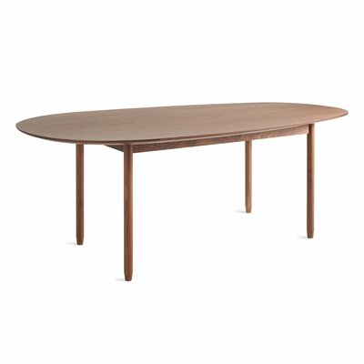 Swole Dining Table Frame Color: Walnut