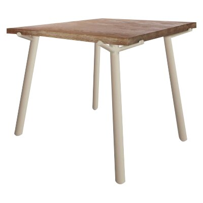 Branch Square Dining Table Base Color: Grey