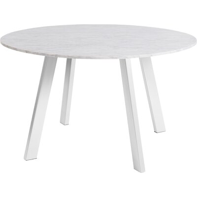 Right Dining Table Base Finish: White