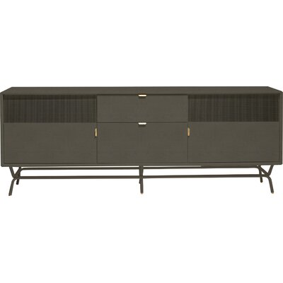 Dang 82 TV Stand Color: Risk-Averse Grey