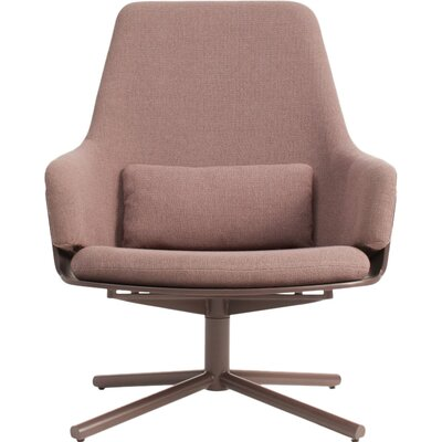 Lock Swivel Lounge Chair Upholstery: Condit Dusk