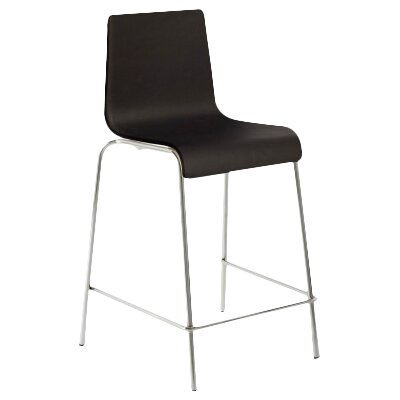 36 Bar Stool Body Fabric: Black