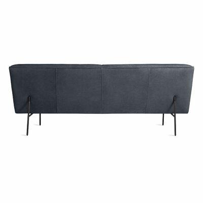 Dandy Sofa Body Fabric: Ink Leather