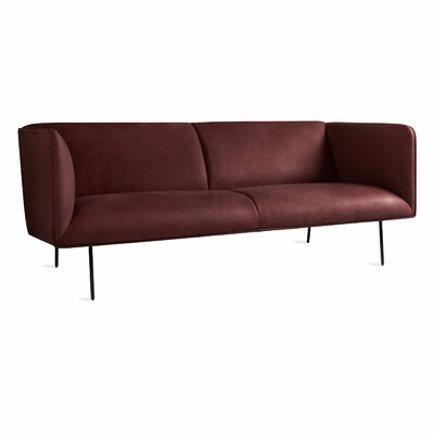 Dandy Sofa Body Fabric: Oxblood Leather