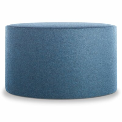 Bumper Large Ottoman Body Fabric: Thurmond Marine Blue