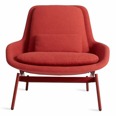 Field Lounge Chair Body Fabric: Craig Red