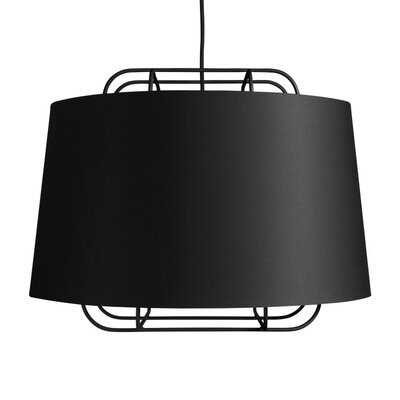 Perimeter Large Pendant Shade Color: Black