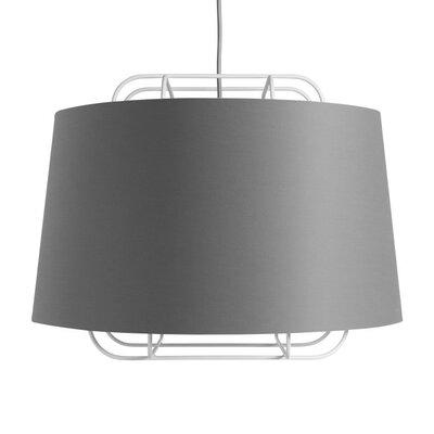Perimeter Large Pendant Shade Color: White/Gray