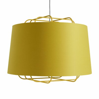Perimeter Large Pendant Shade Color: Ochre
