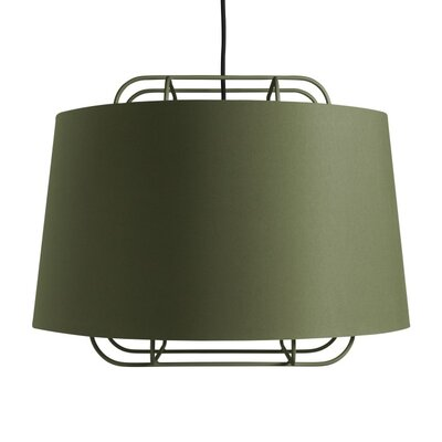 Perimeter Large Pendant Shade Color: Olive