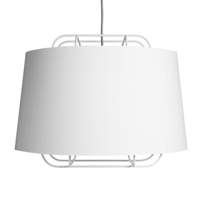 Perimeter Large Pendant Shade Color: White