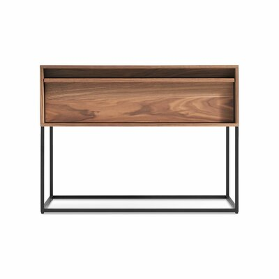 Rule Nightstand Color: Walnut