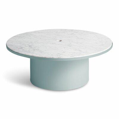 Plateau Coffee Table Table Base Color: Breezy Blue