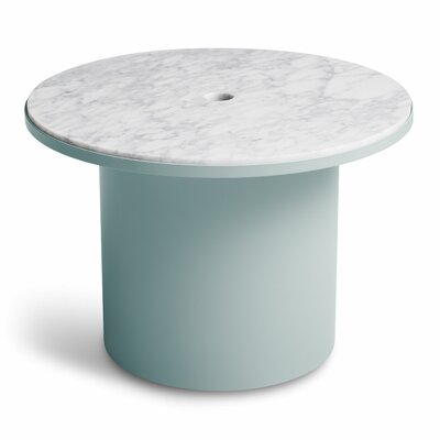Plateau Medium Table Table Base Color: Breezy Blue