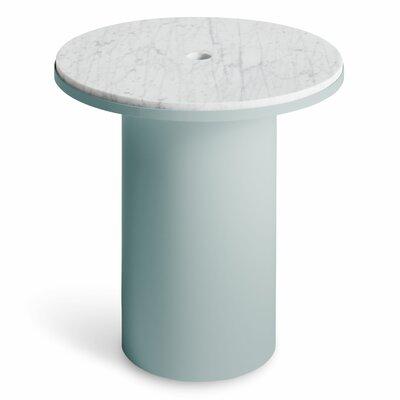 Plateau Side Table Table Base Color: Breezy Blue