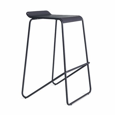 Ready Stacking Barstool Frame Color: Navy