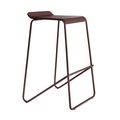 Ready Stacking Barstool Frame Color: Oxblood