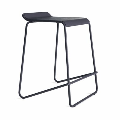 Ready Stacking Counter Stool Frame Color: Navy
