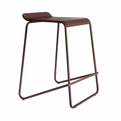 Ready Stacking Counter Stool Frame Color: Oxblood
