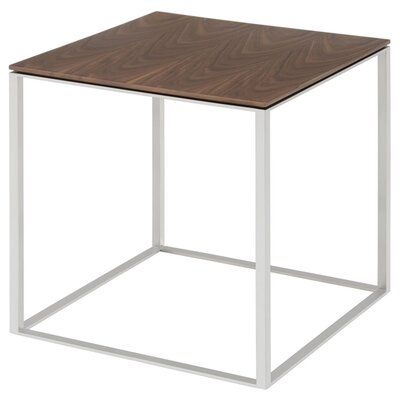 Minimalista End Table Color: Walnut