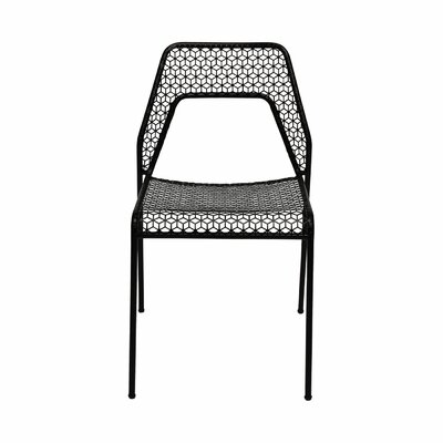 Hot Mesh Side Chair Upholstery: Black