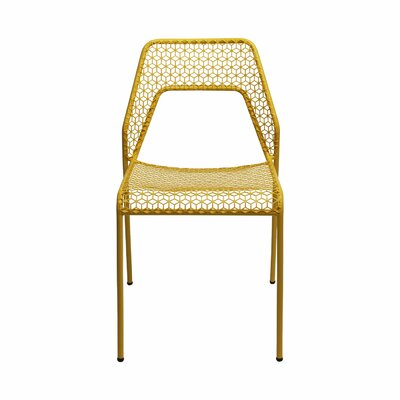 Hot Mesh Side Chair Upholstery: Mustard Yellow