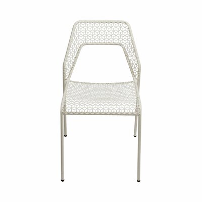 Hot Mesh Side Chair Upholstery: White