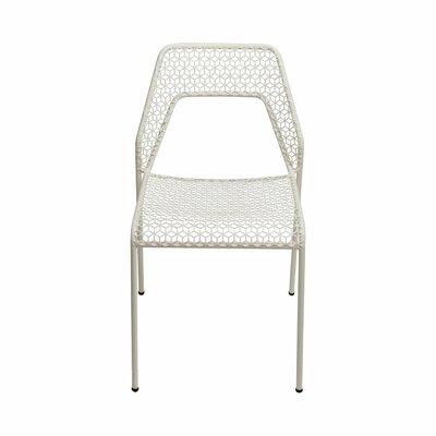 Hot Mesh Side Chair Upholstery: White