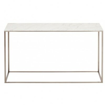 Minimalista Console Table Finish: Honed Stone