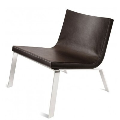 Stella Side Chair Upholstery: Dark Brown Faux Leather