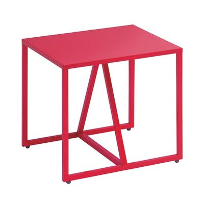 Strut End Table Finish: Watermelon