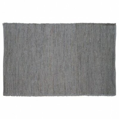 Last Newspaper Gray Area Rug Rug Size: Rectangle 6' x 9'