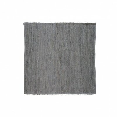 Last Newspaper Gray Area Rug Rug Size: Square 9' x 9'
