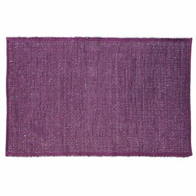 Last Newspaper Purple Area Rug Rug Size: Rectangle 6' x 9'