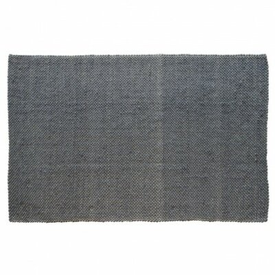 Dash Hand Woven Cotton Slate Area Rug Rug Size: Rectangle 9' x 12'