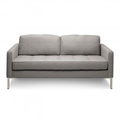 Paramount Studio Loveseat Upholstery: Pebble