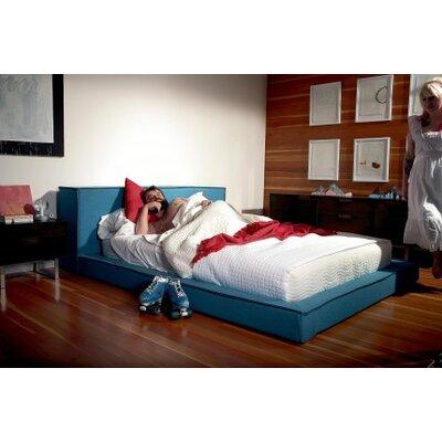 Dodu Bed Size: Queen, Upholstery: Aqua
