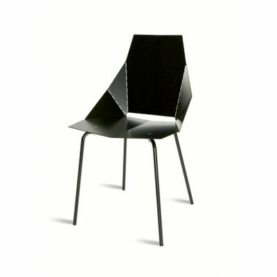 Real Good Side Chair Finish: Black / Black, Upholstery: None
